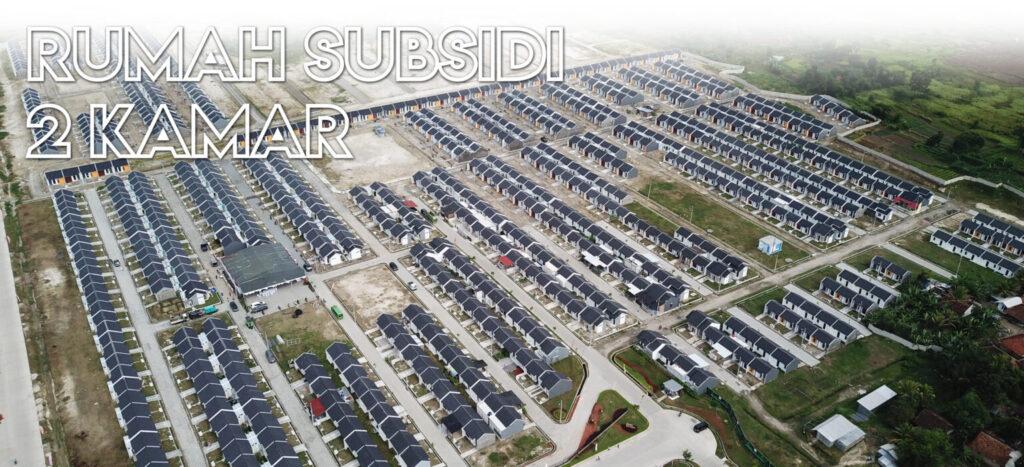 rumah subsidi 2 kamar